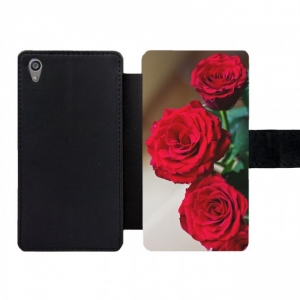 Sony Xperia Z5 Wallet case (front printed)