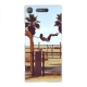 Sony Xperia XZ1 Hard case (back printed, transparent)