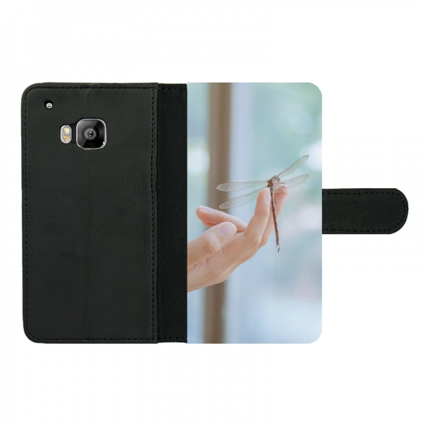 HTC One M9 Wallet case (front printed)