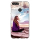 Huawei P Smart (2018) Soft case (back printed, transparent)