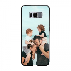 Samsung Galaxy S8 Plus Soft case (back printed, black)