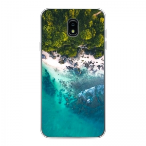 Samsung Galaxy J7 (2018) Soft case (back printed, transparent)