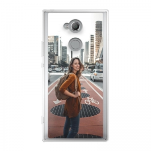 Sony Xperia XA2 Soft case (back printed, transparent)