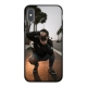 Apple iPhone X/Xs Soft case (back printed, black)
