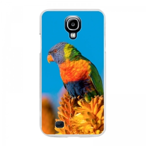 Samsung Galaxy S4 Hard case (back printed, transparent)