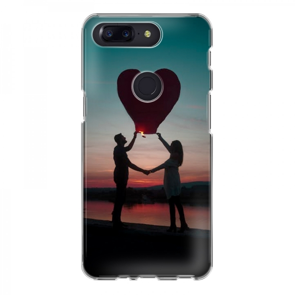 OnePlus 5T Soft case (back printed, transparent)