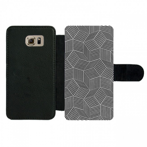 Samsung Galaxy S6 Wallet case (front printed)