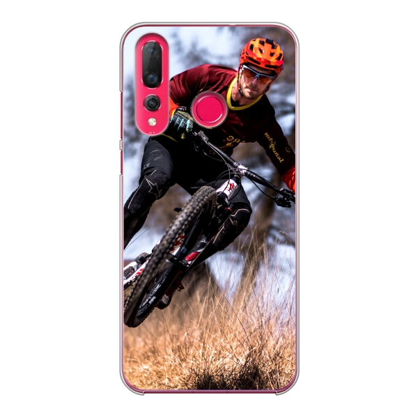 Huawei P30 Lite Hard case (back printed, transparent)