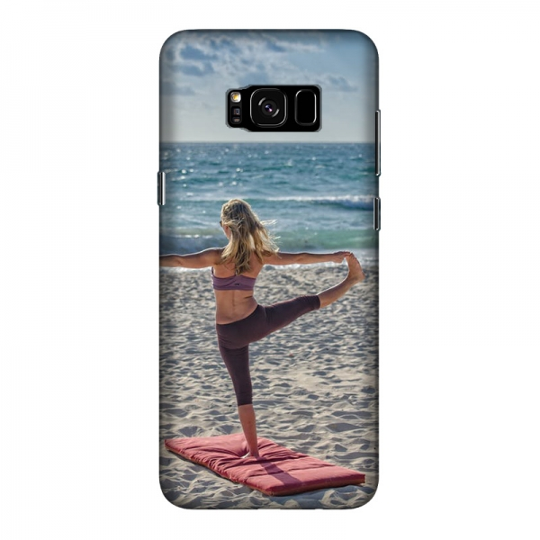 Samsung Galaxy S8 Hard case (fully printed, gloss)