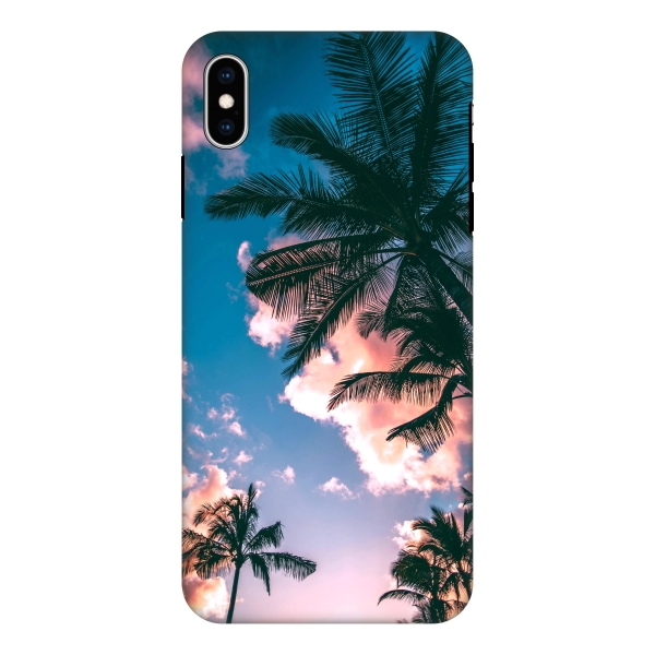 Apple iPhone Xs Max Tough case (fully printed, black)