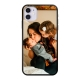 Apple iPhone 11 Soft case (back printed, black)