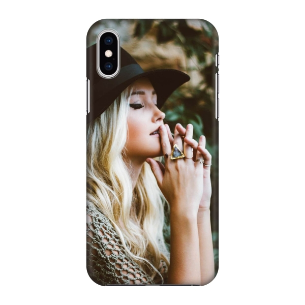 Apple iPhone X/Xs Hard case (fully printed, deluxe)