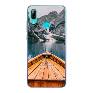 Huawei P Smart (2019) Soft case (back printed, transparent)