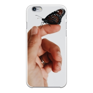 Apple iPhone 6/6s Hard case (back printed, white)