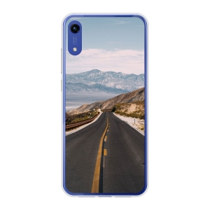 Honor Play 8A soft case (back printed, transparent)