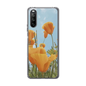 Sony Xperia 10 III Soft case (back printed, transparent)