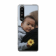 Sony Xperia 1 III Soft case (back printed, transparent)